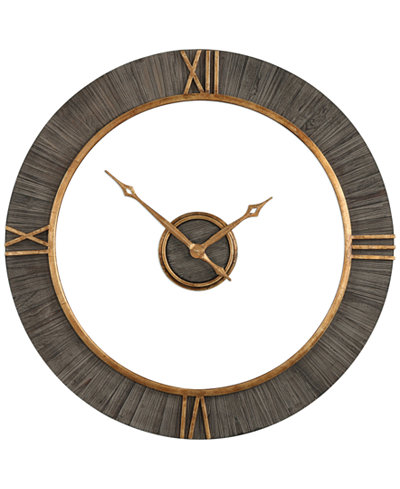 Uttermost 2-Pc. Alphonzo Modern Wall Clock