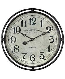 Uttermost Nakul Industrial Wall Clock