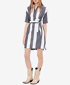 Calvin Klein Jeans Cotton Striped Shirtdress