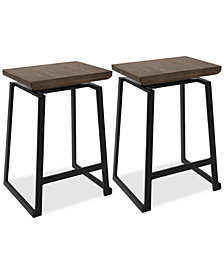 Geo Counter Stool Set of 2