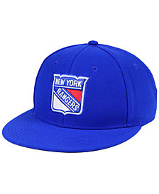 adidas New York Rangers Basic Fitted Cap