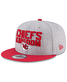 New Era Kansas City Chiefs Draft 9FIFTY Snapback Cap