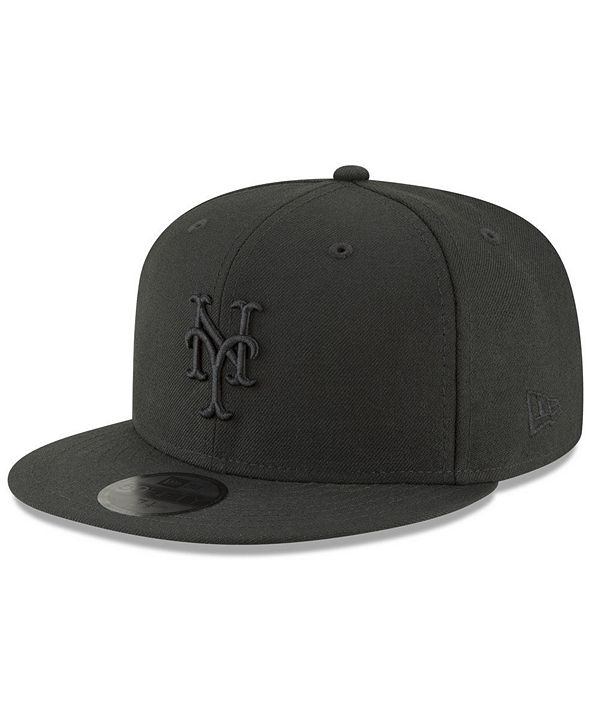 New Era New York Mets Blackout 59FIFTY FITTED Cap