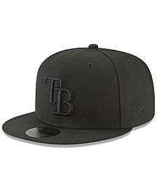 Tampa Bay Rays Blackout 59FIFTY FITTED Cap