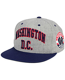 Mitchell & Ness Washington Wizards Side Panel Cropped Snapback Cap