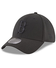 New Era Boston Red Sox Blackout 39THIRTY Cap