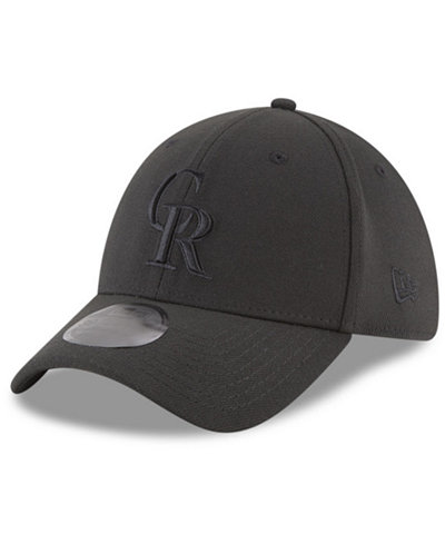 new concept c6d75 fc435 ... order new era colorado rockies blackout 39thirty cap 80cae da4ea