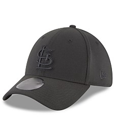 New Era St. Louis Cardinals Blackout 39THIRTY Cap