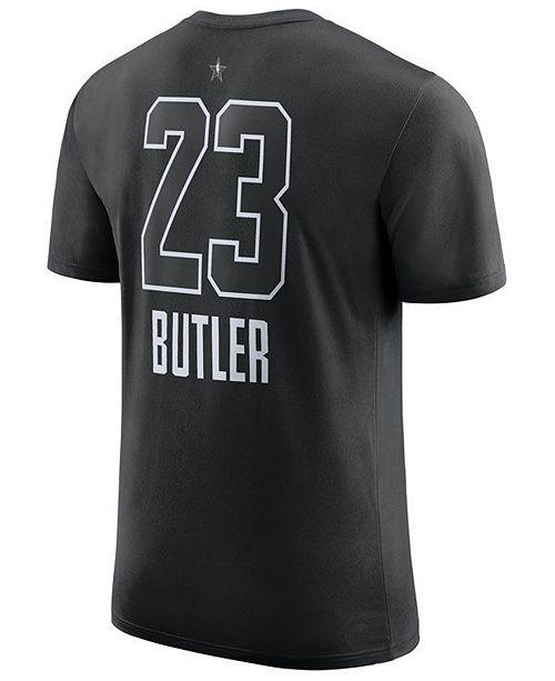 sports shoes 4e855 01317 Men's Jimmy Butler Minnesota Timberwolves All-Star Jordan Player T-Shirt