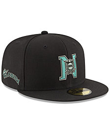 New Era Florida Marlins League Front 59FIFTY FITTED Cap