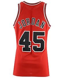 Mitchell & Ness Men's Michael Jordan Chicago Bulls Authentic Jersey