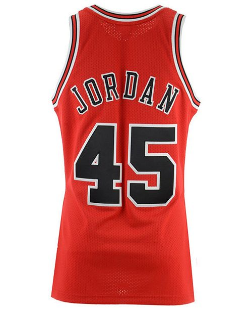 online store cf358 11a69 Men's Michael Jordan Chicago Bulls Authentic Jersey