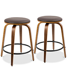 Porto Counter Stool (Set of 2), Quick Ship
