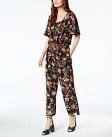 Marella Koben Floral-Print Jumpsuit