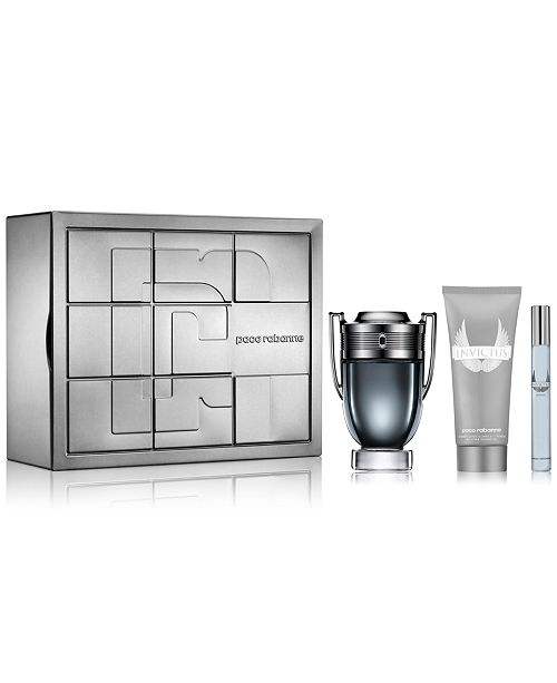 Paco Rabanne Mens 3 Pc Invictus Intense Gift Set Reviews All