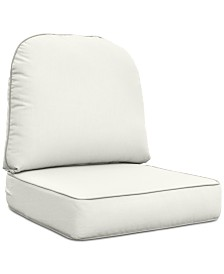 Monterey & Sandy Cove Outdoor Chair Replacement Sunbrella® Cushion, Quick Ship