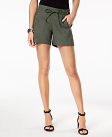 I.N.C. Pull-On Drawstring Shorts, Created for Macy's
