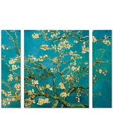 "Vincent van Gogh 'Almond Branches In Bloom' Multi Panel Art Set Large - 41"" x 30"" x 2"""