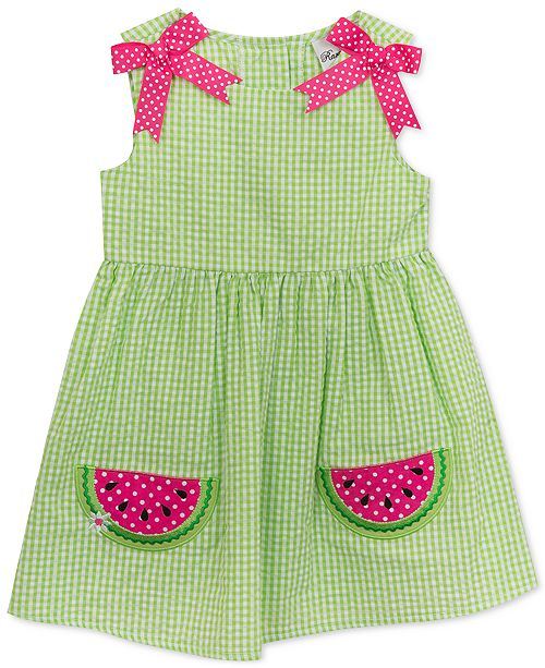 047bb40a6 Rare Editions Toddler Girls Gingham Watermelon Dress & Reviews ...