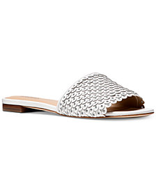 MICHAEL Michael Kors Women's Jessie Flat Slide Sandals