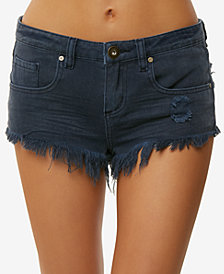 O'Neill Juniors' Sayulita Cotton Denim Shorts