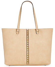 I.N.C. Faany Studded Laptop Tote, Created for Macy's