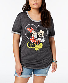 Disney Plus Size Mickey & Minnie Mouse T-Shirt