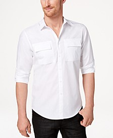 INC Men's Utility Shirt, Created for Macy's
