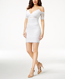 GUESS Marcy Lace Bodycon Dress