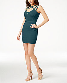 GUESS Strappy Bodycon Dress