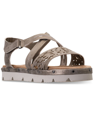 Bearpaw Little Girls' Jane Strappy Sandals from Finish Line