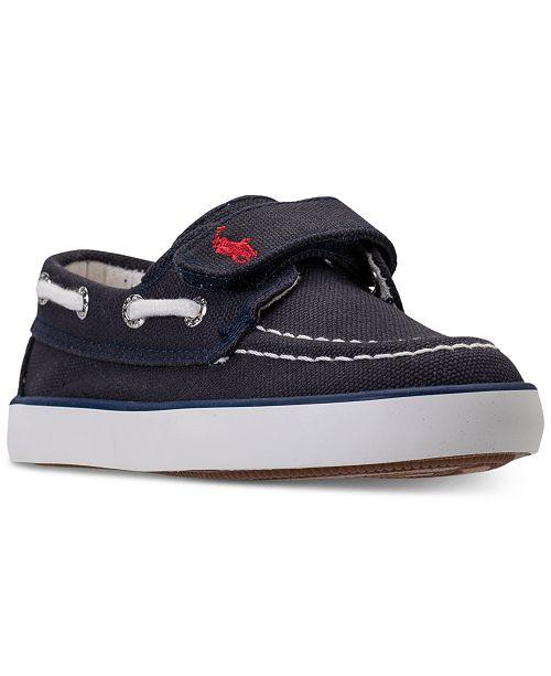 9e1fe59495b ... Polo Ralph Lauren Toddler Boys  Sander EZ Casual Sneakers from Finish  ...