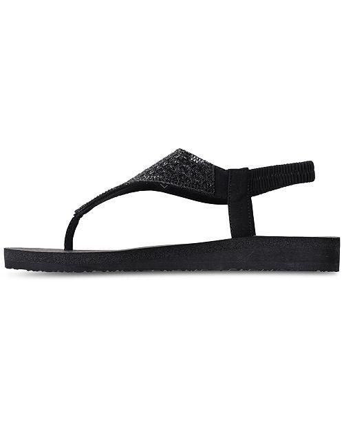 e2a68b523 ... Skechers Women s Meditation - Rock Crown Flip-Flop Thong Sandals from  Finish ...