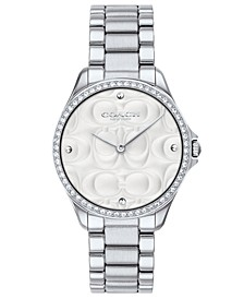 Women's Modern Sport Stainless Steel Bracelet Watch 31mm