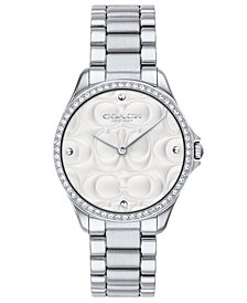 COACH Women's Modern Sport Stainless Steel Bracelet Watch 31mm