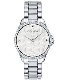 COACH Women's Modern Sport Stainless Steel Bracelet Watch 31mm