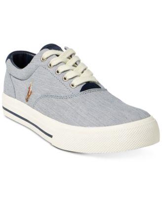 Ralph Lauren Thorton Mesh Low-Top Sneaker Banana Peel 7.5