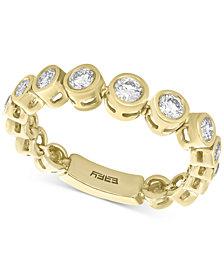 Bubbles by EFFY® Diamond Bezel Ring (3/8 ct. t.w.) in 14k Gold