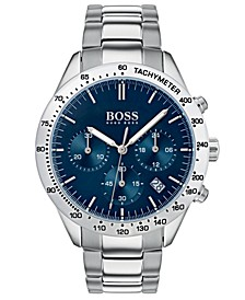 Hugo Boss Men's Chronograph Oxygen Stainless Steel Bracelet Watch 42mm
