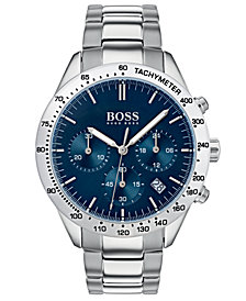 BOSS Hugo Boss Men's Chronograph Oxygen Stainless Steel Bracelet Watch 42mm