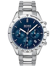 BOSS Hugo Boss Men's Chronograph Oxygen Stainless Steel Bracelet Watch 42mm