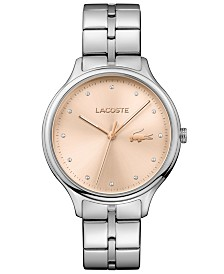 Lacoste Women's Constance Stainless Steel Bracelet Watch 38mm