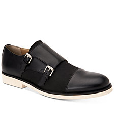 Calvin Klein Men's Finch Monk-Strap Loafers
