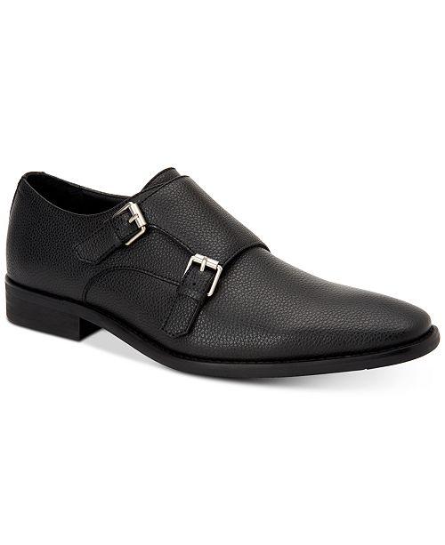 Calvin Klein Men's Robbie Double Monk Strap Shoe