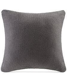 "INK+IVY Bree Chunky-Knit 26"" Square European Pillow Cover"