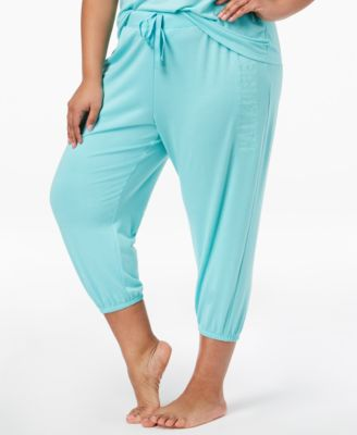 by Jennifer Moore Plus Size Cropped Pajama Jogger Pants, Created for Macy's