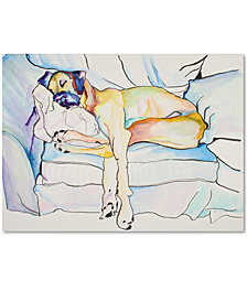 "Pat Saunders-White 'Sleeping Beauty' 35"" x 47"" Canvas Wall Art"