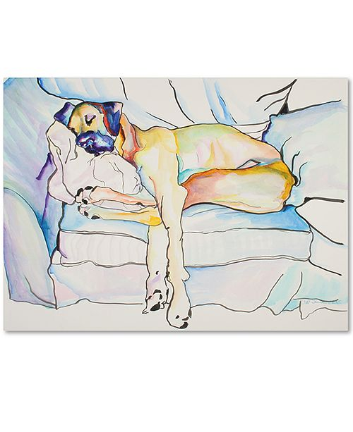 "Trademark Global Pat Saunders-White 'Sleeping Beauty' 18"" x 24"" Canvas Wall Art"