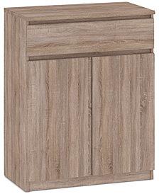 Essex 3-Drawer 2-Door Wardrobe, Quick Ship