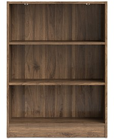 Berkley Short Wide Bookcase, Quick Ship